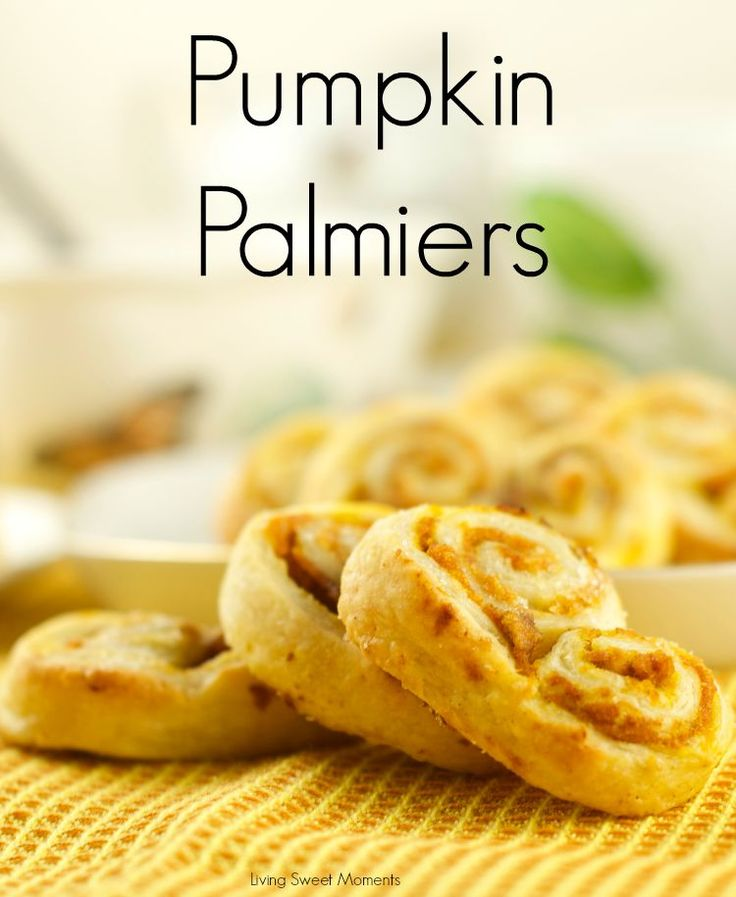 Pumpkin Palmiers | Recipe | Pumpkins, Sweet and The o'jays