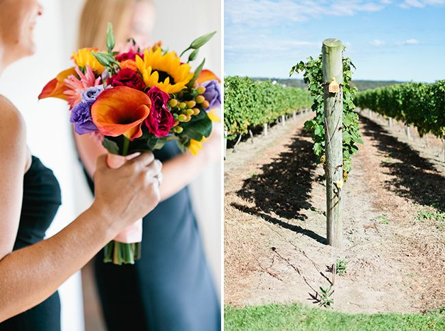 Bright And Bold Vineyard Wedding Blog Russell Morin Fine Catering Newport Providence