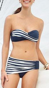 Anne Cole Swimwear: I love this but I wish it was a 1 piece!