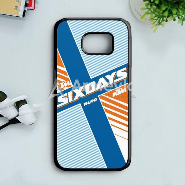 Ktm Motorcycle Six Days Finland Mx Samsung Galaxy S7 Case | armeyla.com