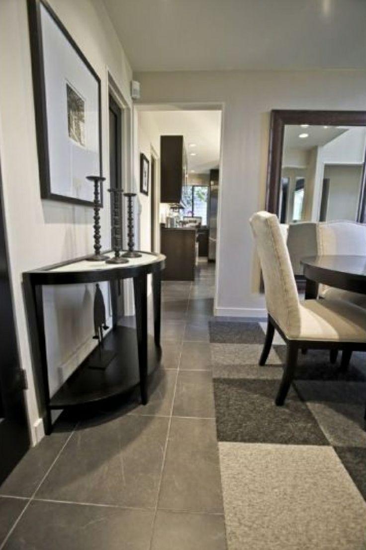 flor squares modern decor shades of gray ceramic tile floor - Flor Decor
