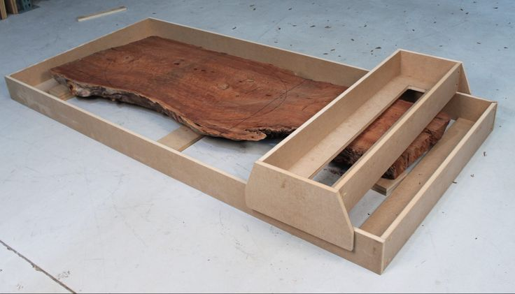 Infinity Cutting Tools - Router sled for flattening a live-edge slab