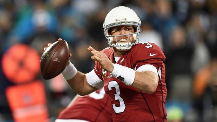 Carson Palmer: 'You can't let one game define you'    -   Carson Palmer is looking to move past his abysmal performance in the playoffs. Arizona Cardinals quarterback Carson Palmer was one of the top-three players at his position last season. He put up what has to be considered an MVP-caliber campaign, tallying 4,671 passing yards with 35 touchdowns (both career highs).  Despite this level of personal success on a Cardinals team that earned a franchise-record 13 wins and a spot in the NFC…