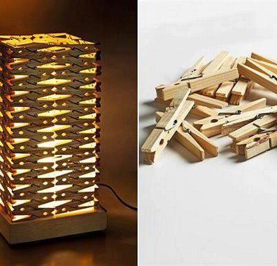 Lamp wasknijpers