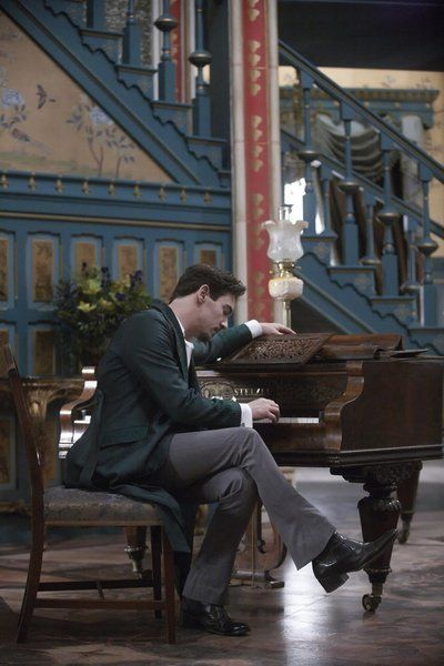 Still of Jonathan Rhys Meyers in Dracula (2013)... how is it I'm not watching this tv series!