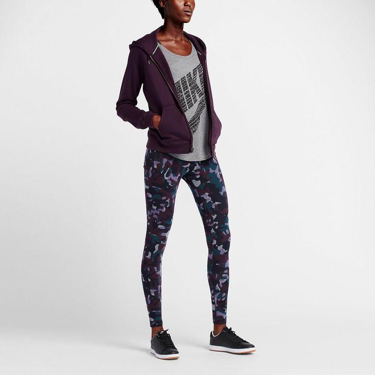 Nike A-See Printed Kadın Kamuflaj Tayt (678856-065)