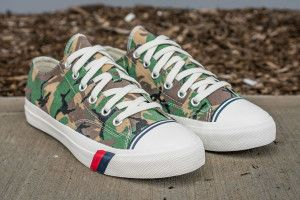Pro-Keds Dresses the Royal Lo in Country Specific Camo