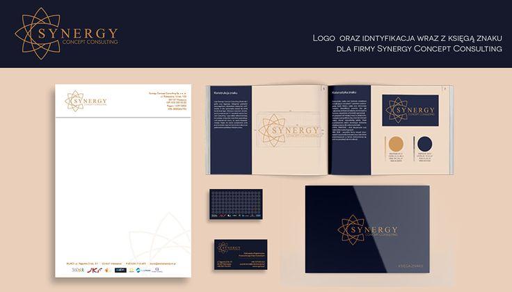 Realizacja identyfikacji wizualnej dla: Synergy Concept Consulting #identyfikacja_wizualna #Łódź #grafika #marketing