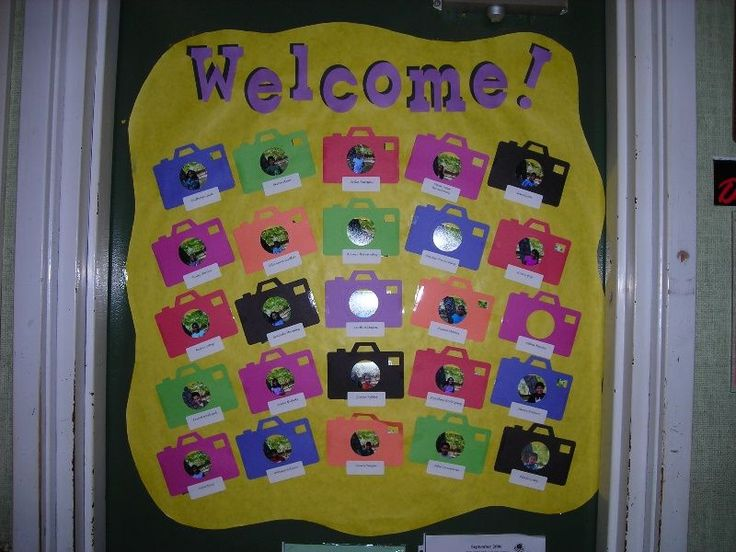 The 79 best images about bulletin board ideas on pinterest for Idea door primary