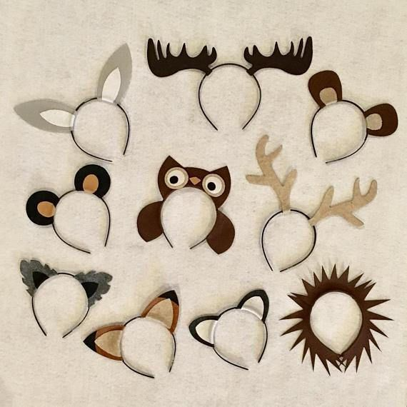 Variety of animal headbands of your choice! Prices are based per headband. Add to your cart, and select the desired quantity. Please list the desired animals in the order notes before checking out. Lion, elephant, zebra, cheetah, leopard, giraffe, cheetah, monkey, fox, bear, wolf, bunny,