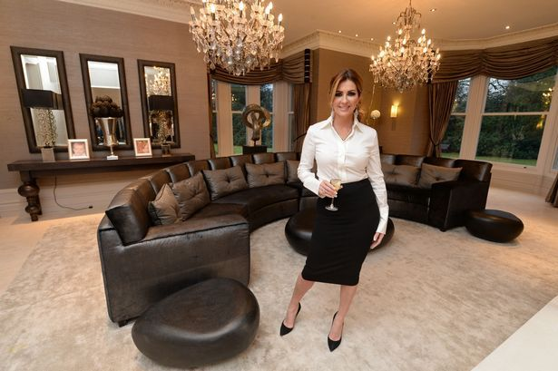 Footballer WAG and well respected interior designer Dawn Ward, from 'The Real Housewives of Cheshire' reality TV show