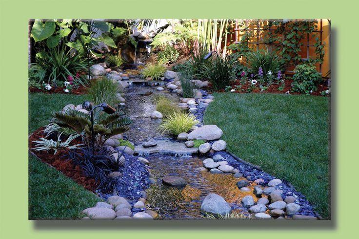 Backyard Stream Backyard Ponds Streams And Waterfalls 400 x 300
