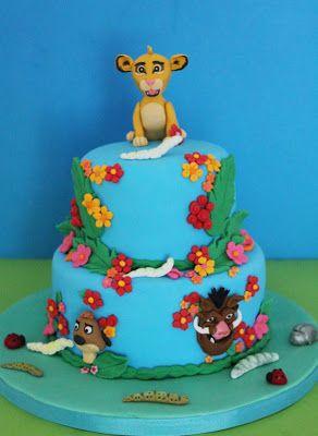 Simply Cakes, tarta del Rey León.