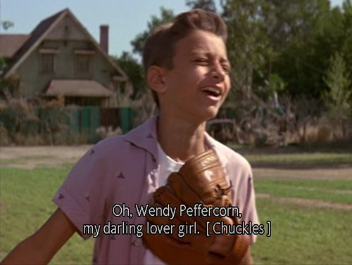 One of my favorite parts from this movie. When he makes fun of Squints and says he was swoonin'