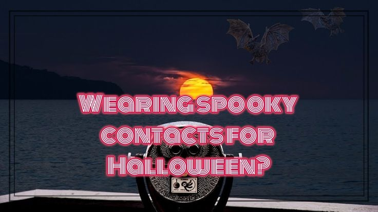 Wearing spooky contacts for #Halloween ? Here's why eye doctors say you shouldn't