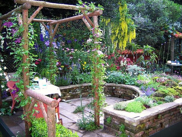 Courtyard Garden Gardening Ideas Tips Pinterest