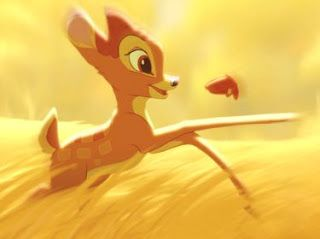 Cartoon Characters and Animated Movies: Bambi