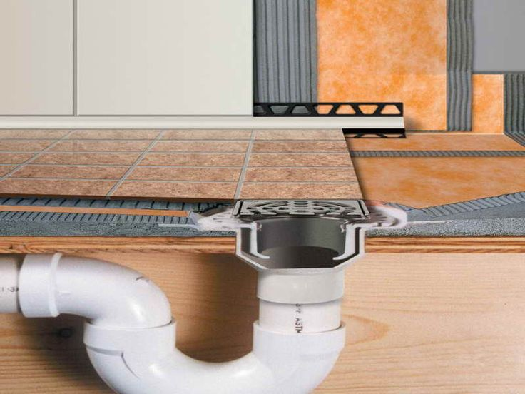 how to install a shower kits draining system