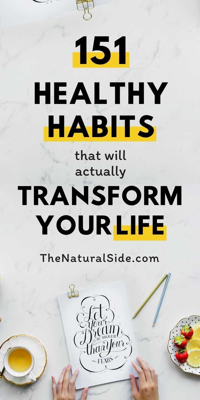 151 Gesunde Gewohnheiten, die Ihr Leben verändern