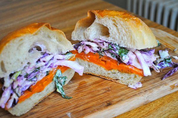 sweet potato sandwich!