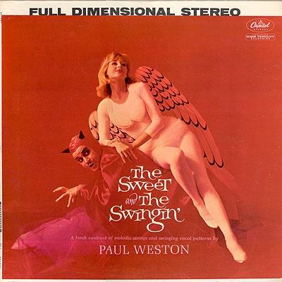 Paul Weston Capitol record album cover re