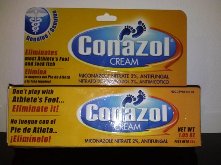 Dile adiós al pie de atleta con la crema Conazol @Conazolusa