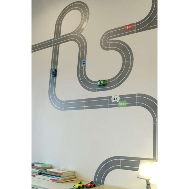 Race ya re stik movable wall decals by blik photo marky 39 s room pinterest movable walls - Blik wall stickers ...