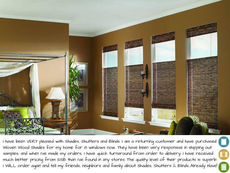 Woven Wood Natural Shades: Among The Most Popular Blinds Of 2013 #Top10  #homedecor