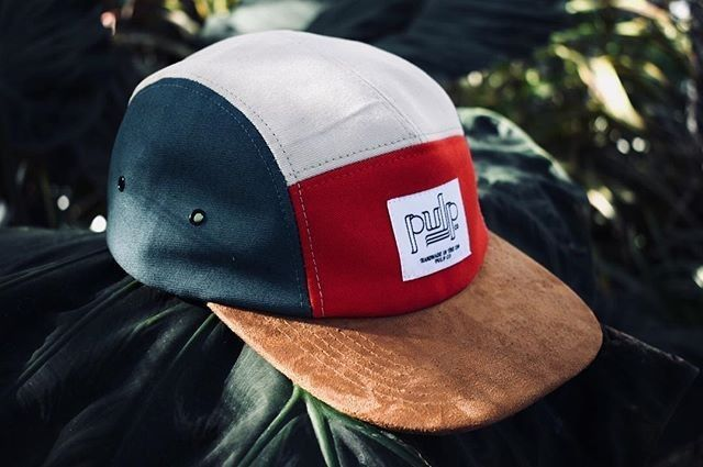 Custom Color Cotton Twill and Suede Five Panels for  pulp.co ... 2c21b9bc24a0