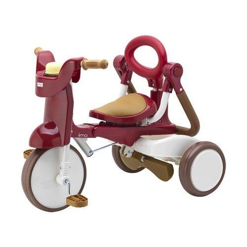 Складной трехколесный велосипед