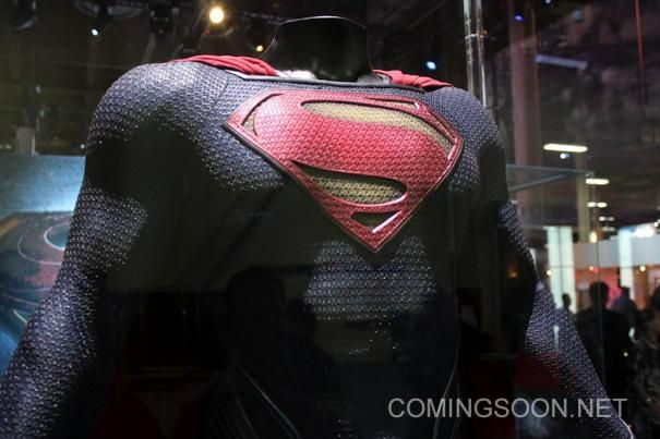 'Man of Steel' Superman Costume Expo Display