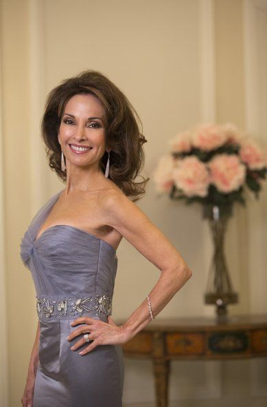 Susan Lucci...I don't even want to know how old she is lol