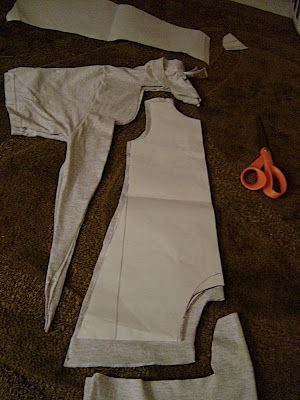 Fit to a T baby romper tutorial part 2: Making the Pattern and Cutting | The Seamery