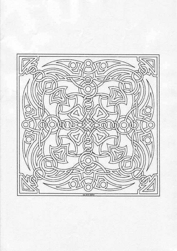 Mandala Carre Et Symetrique A Imprimer Gratuitement Ou Colorier En Ligne Sur Hellokids