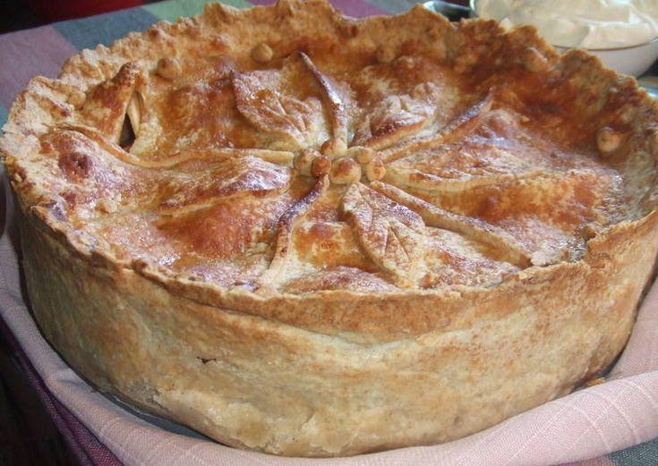 Pastel de manzana al estilo de Nueva Inglaterra