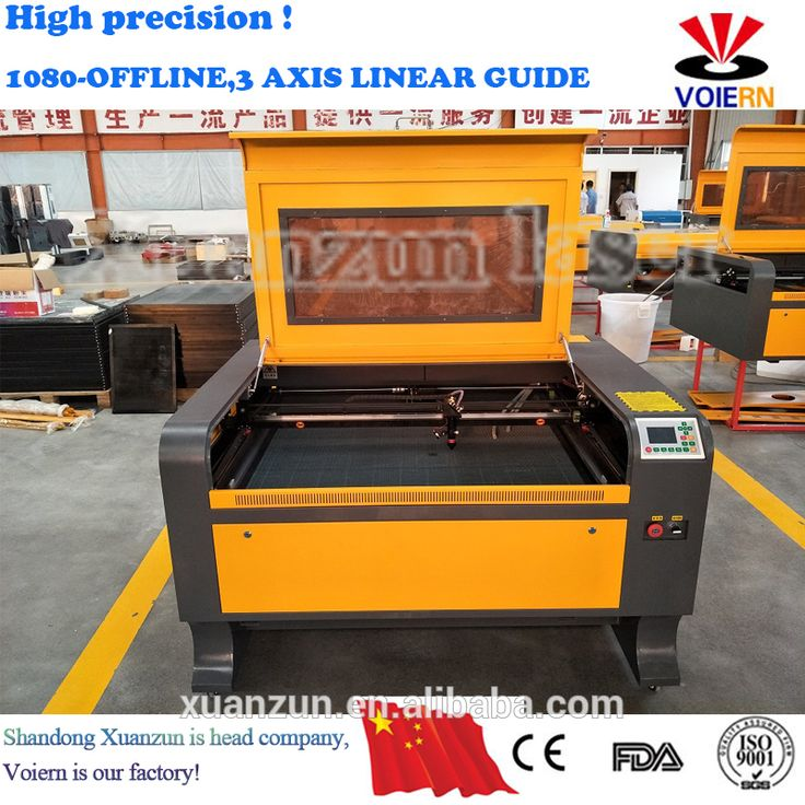 liaocheng xuanzun high quality 800mm*1000mm CO2 laser acrylic sheet cutting and engraving machine. usb flash drive marking