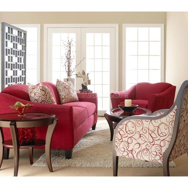 Kris Living Room Set (Cinnabar)