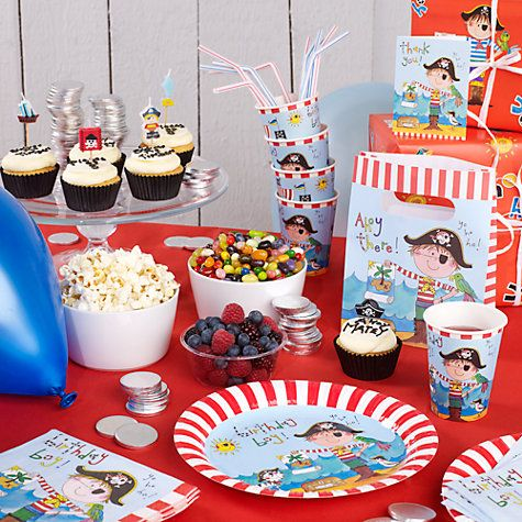 11 best party images on pinterest invites john lewis and the perfect party theme for your little pirate stopboris Image collections