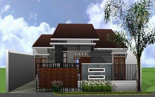 Gambar Pagar Rumah Minimalis Type 45 Yvixen Inspirasi Model Pagar Rumah Minimalis  Type 45 20 Contoh Pagar Rumah Mini… Di 2020 | Rumah Minimalis, House  Blueprints, Rumah