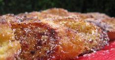 Rabanadas ou fatias douradas no forno