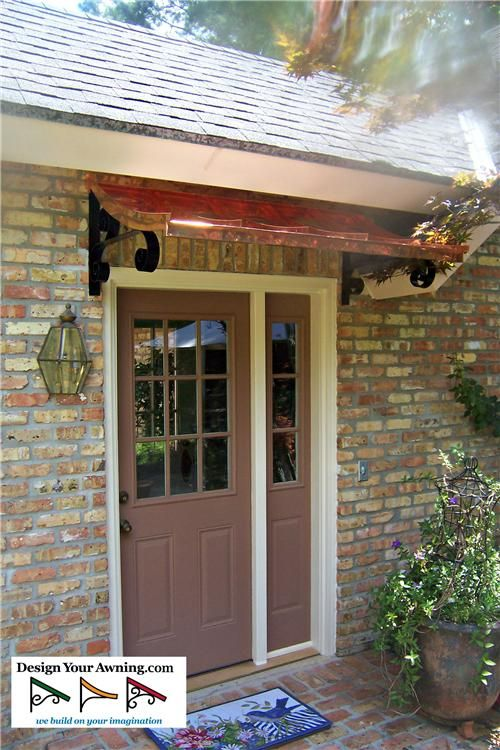 12 Best Concave Style Door Awnings Images On Pinterest