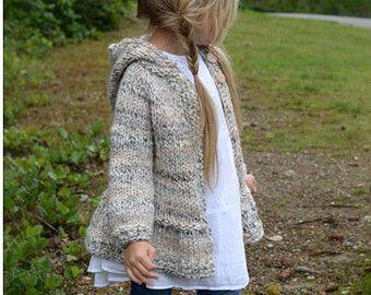 CROCHET PATTERN-The Verge Sweater 2 3/4 5/7 8/10 11/13