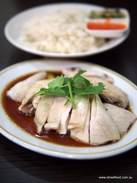 Street Food: Albee's Kitchen ~ Hainanese Chicken Rice $9.50 -  Malaysian - Campsie