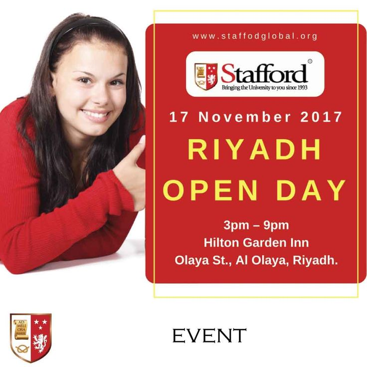 | Riyadh Open Day - Personal Consultation on UK University Programmes |  Get an immediate assessment of your eligibility to enrol in one of UK's Top universities. Just bring a copy of your CV, Degree Certificate and Mark sheets and our expert admissions consultants will be able to assist you.