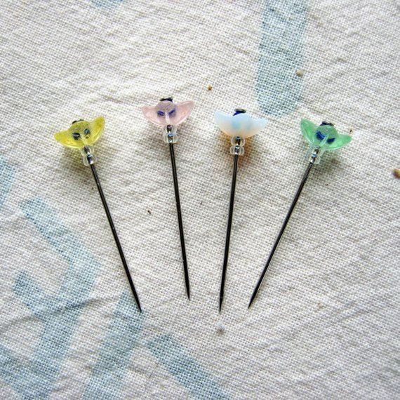 how to make decorative straight pins
