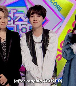 "sugutie: "" ""the 2 sides of Min Yoongi "" """