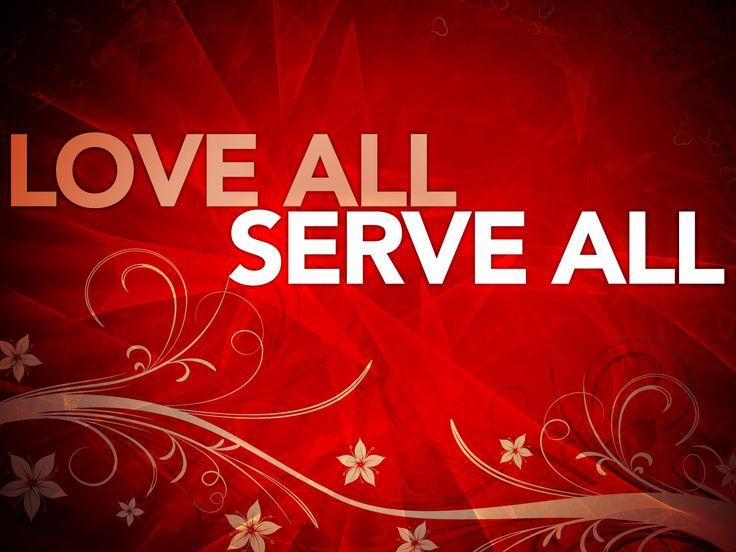 Serving others is serving God