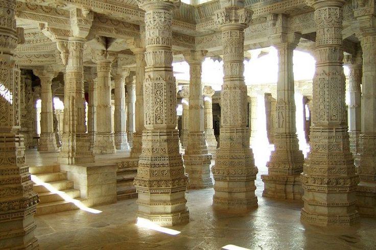 Ранакпур, Индия Джайнский храмовый комплекс