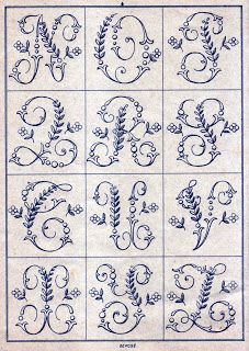 Elizabeth Hand Embroidery: Shopping and placemats