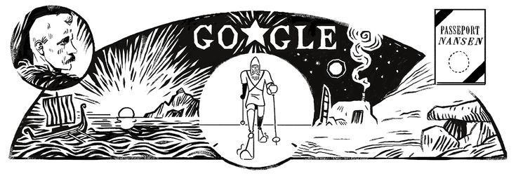 """Fridtjof Nansen: 5 Fast Facts You Need to Know - Fridtjof Nansen, the legendary adventurer who """"broke new ground as an international humanitarian,"""" helping countless refugees from multiple backgrounds, is being honored with an October 10 Google Doodle on what would be his 156th birthday. #FridtjofNansen #156thBirthday #GoogleDoodle"""